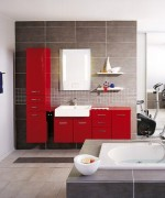 Home Office Designs With Red Accents 004