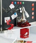 Home Office Designs With Red Accents 008