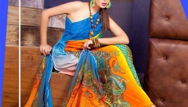 La Reina Digital Print Dresses 2014 by Shariq Textiles 3