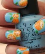 Latest Fruit Nail Art Designs 2014 for Summer Season 0012