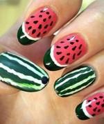 Latest Fruit Nail Art Designs 2014 for Summer Season 0013