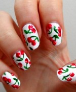 Latest Fruit Nail Art Designs 2014 for Summer Season 005