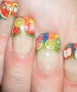 Latest Fruit Nail Art Designs 2014 for Summer Season 009