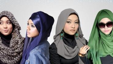 Latest Hijab Designs 2014 For Ramadan 003
