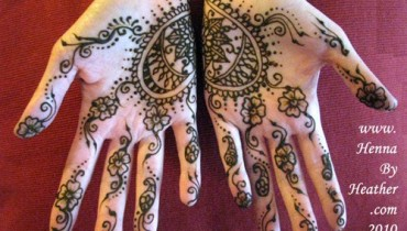 Loved Heart Mehndi Designs For Women 0011