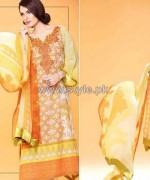 Nadia Hussain Embroidered Eid Dresses 2014 For Women 6