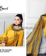 Nadia Hussain Embroidered Eid Dresses 2014 For Women 7