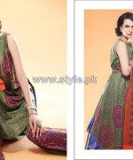 Nadia Hussain Embroidered Eid Dresses 2014 For Women 9