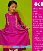 Ochre Clothing Eid Dresses 2014 For Girls 2
