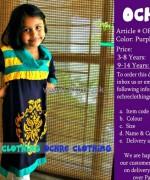 Ochre Clothing Eid Dresses 2014 For Girls 4