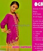 Ochre Clothing Eid Dresses 2014 For Kids 10