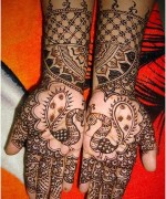 Peacock Mehndi Designs For Hands