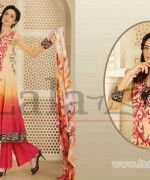 Sana Samia Embroidered Lawn Dresses 2014 In Stores 2