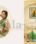 Sana Samia Embroidered Lawn Dresses 2014 With Price 5