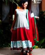 Sanober Azfar Eid Dresses 2014 For Girls 4