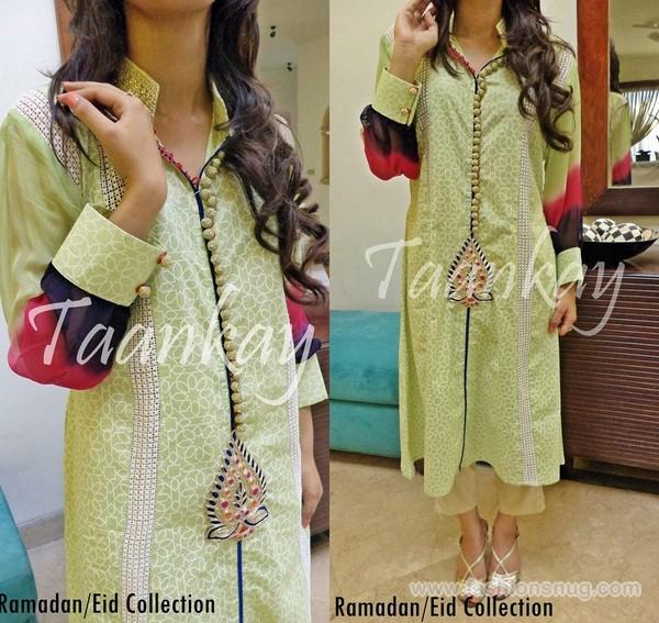 Taankay Eid-Ul-Fitr Dresses 2014 With Price 6