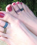 Toe Ring Designs 2014 For Women 001