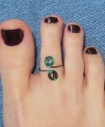 Toe Ring Designs 2014 For Women 0010