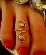 Toe Ring Designs 2014 For Women 0011