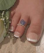 Toe Ring Designs 2014 For Women 0014