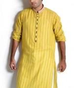 Trend Of Mehndi Kurtas 2014 For Men 001