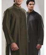 Trend Of Mehndi Kurtas 2014 For Men 0011