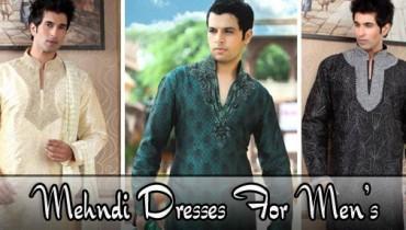 Trend Of Mehndi Kurtas 2014 For Men 0014