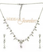 Trend Of White Gold Necklace For Women 001