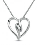 Trend Of White Gold Necklace For Women 0010