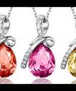 Trend Of White Gold Necklace For Women 0013