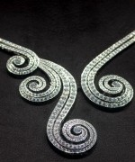 Trend Of White Gold Necklace For Women 0014