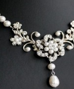 Trend Of White Gold Necklace For Women 0016