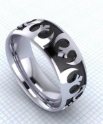 Trends Of Geeky Wedding Rings 2014 For Women 0010