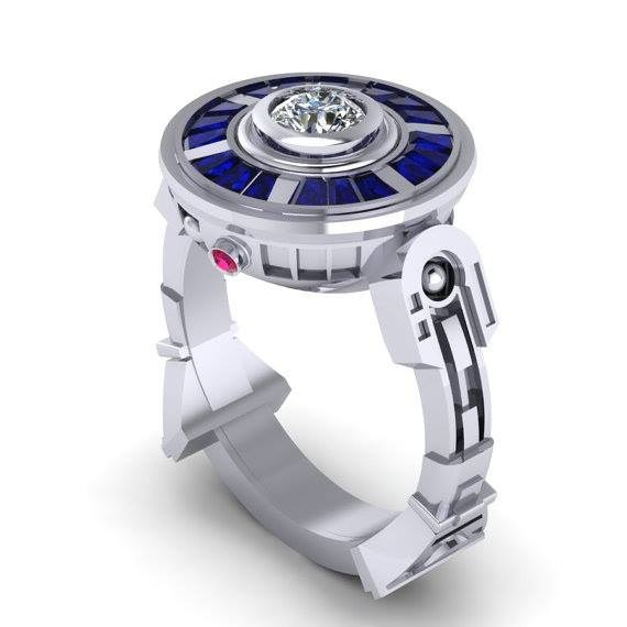 Trends Of Geeky Wedding Rings 2014 For Women 004