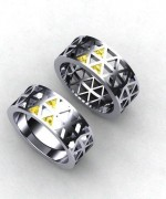 Trends Of Geeky Wedding Rings 2014 For Women 005