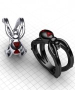 Trends Of Geeky Wedding Rings 2014 For Women 006