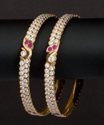 Trends Of Stone Bangles 2014 For Women 002