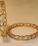 Trends Of Stone Bangles 2014 For Women 004