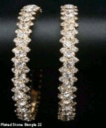 Trends Of Stone Bangles 2014 For Women 005