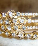 Trends Of Stone Bangles 2014 For Women