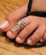 Trends Of Toe Ring Designs For Women 0012