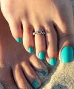 Trends Of Toe Ring Designs For Women 009