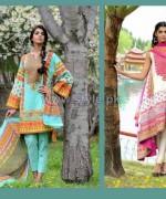 Wardah Saleem Lawn Prints 2014 by Shariq Textiles 11