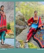 Wardah Saleem Lawn Prints 2014 by Shariq Textiles 6