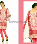 Ali Xeeshan Eid-Ul-Fitr Dresses 2014 by Shariq Textiles 3