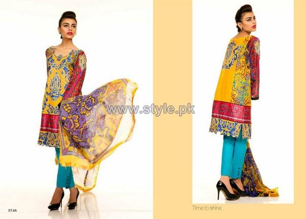 Ali Xeeshan Eid-Ul-Fitr Dresses 2014 by Shariq Textiles 4