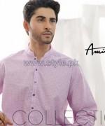 Amir Adnan Men Kurta Designs 2014 For Eid 1