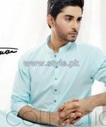 Amir Adnan Men Kurta Designs 2014 For Eid 3