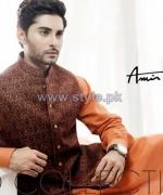 Amir Adnan Men Kurta Designs 2014 For Eid 4