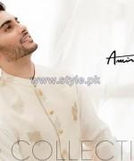 Amir Adnan Men Kurta Designs 2014 For Eid 5